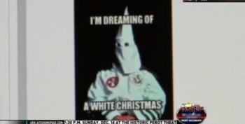 TX School Board Member Posts KKK 'White Christmas' On Facebook