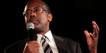 Ben Carson Reminds CSPAN Viewers On MLK Day That Obama Is 'Half White'