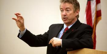Here's Rand Paul In His Latest Role As A Pandering Putz