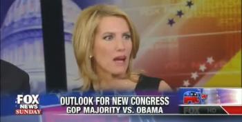 In The World According To Laura Ingraham, Blocking Obama Improved Economy
