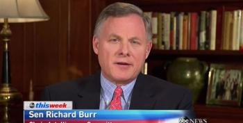 Take The Mote Out Of Your Own Eye, Senator Burr