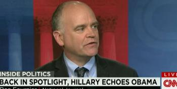 Ron Fournier Suffers From Catastrophic Memory Loss