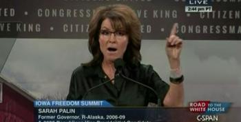 DNC's Hilarious Two Word Response For Sarah Palin
