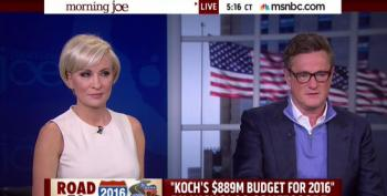 Mika Brzezinski Is Head Over Heels In Love With The Kochs