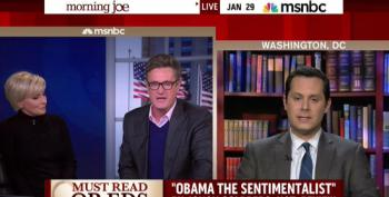Morning Joe Screams At Guests Who Tell Him Obamacare Was A Republican Idea