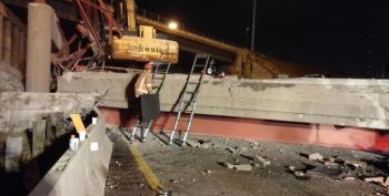 Bridge Collapse In Ohio Kills One