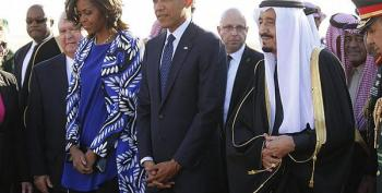 Saudis Upset At First Lady Michelle Obama For Leaving Her Head Uncovered
