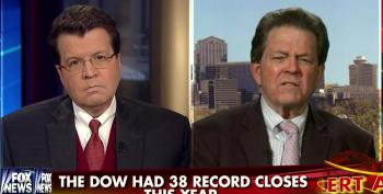 Art Laffer Tells Cavuto The Economy Is Improving Because We Ran Out Of Stimulus Money