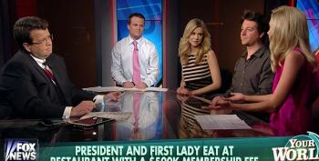 Elitists At Fox 'News' Feign Outrage Over Obama's Dinner At Pricey Hawaiian Restaurant