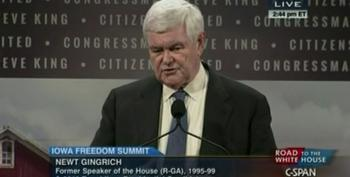 Gingrich Pushes Debunked Boko Haram Lie At Iowa Forum