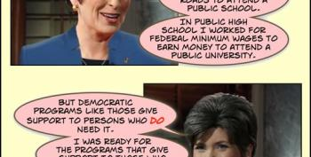 Open Thread - If Joni Ernst Told The Truth