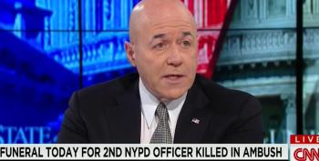 CNN Asks Convicted Felon Bernie Kerik His Opinion On NYPD Tensions