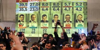 Greek Voters Rebel Against Austerity