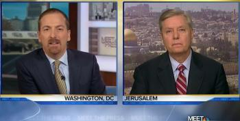Chuck Todd Allows Lindsey Graham To Blame Obama For Deaths In Syrian Civil War