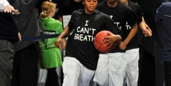 How It's Done — Cops 'Fix' An I-Can't-Breathe Basketball Team