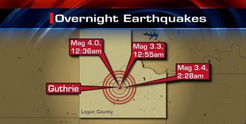 Oklahoma Okay With Fracking-Induced Earthquakes