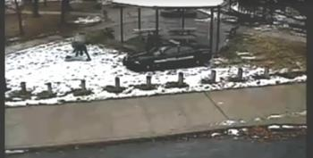 Video Shows Cops Tackling Tamir Rice's Sister While Leaving Rice Bleeding On The Ground