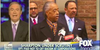 Fox News: Companies Are Paying Al Sharpton To Keep Quiet