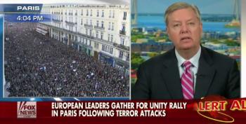 Graham Attacks Obama Admin. For Not Taking Threat Of Terrorism Seriously Enough