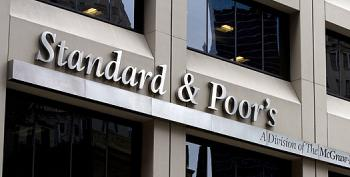 Report: S&P Will Be Banned For A Year From Rating Bonds