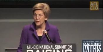 "Elizabeth Warren: ""America's Middle Class Is In Deep Trouble."""