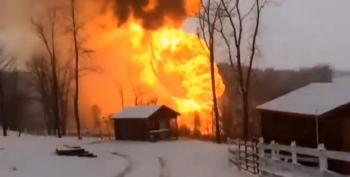 Another Pipeline Explosion, This Time In West Virginia