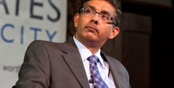 Convicted Conservative Felon D'Souza Shows His Ass Again