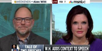MSNBC Commentator Smacks Down Faux Outrage Over Prayer Breakfast: 'Tough!'