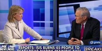 Fox News Brings War Criminal Rumsfeld On To Discuss War Crimes