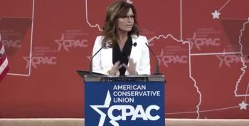 Palin Inadvertently Suggests She's Not Qualified To Be President