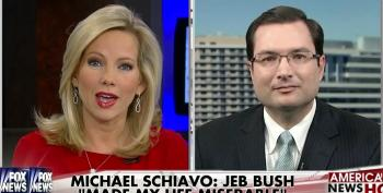 Shannon Bream Attacks Michael Schiavo To Defend Jeb Bush?