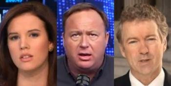 Rand Paul Pal Alex Jones Calls CNBC Anchor 'Whore' And More