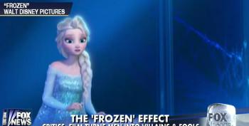 Fox News Worries That Films Like 'Frozen' Make Fools Of Men