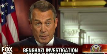 Boehner Denies Benghazi Select Committee Is Another Clinton Witch Hunt