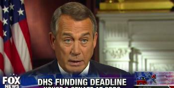 Boehner Ready To Let DHS Funding Expire And Try To Blame Democrats