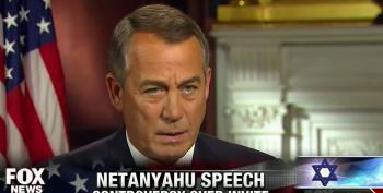 Boehner Blames White House For Netanyahu Speech Dust Up