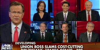 Fox News Panel Salivates Over Getting Rid Of Government Employees