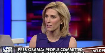 Laura Ingraham Carps About Obama 'Lecturing America About Our Evil Misdeeds'