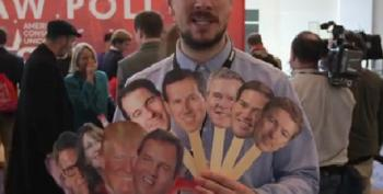 Heads On Sticks At CPAC: Who Do Conservatives Want?