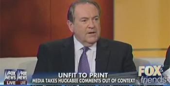 Mike Huckabee Leads GOP In Iowa Poll For 2016 Nomination