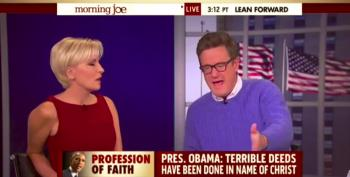 Morning Joe Is Appalled That President Obama Criticized Christianity