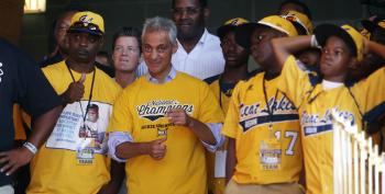 Rahm Emanuel Goes To Bat For Little League Team Stripped Of Title