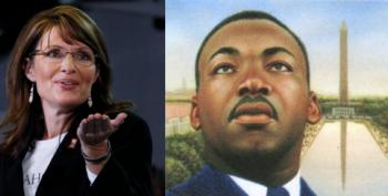 Who Knew Bristol Palin Was The Daughter Of Martin Luther King?