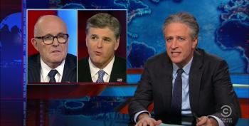 Stewart To Giuliani: You Know You're Not The Mayor Of 9-11, Right?