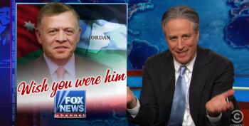 Jon Stewart Hits The Pundits At Fox For Their Love Of Dictators