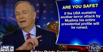 O'Reilly Fearmongers That ISIS Is Coming To Kill Us All