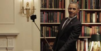 Conservatives' Heads Explode Over Obama's 'Selfie Stick' Video