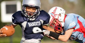 Study: Brain Problems Linked To Tackle Football Before Age 12