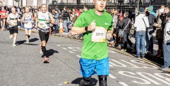 Winning Marathons While Running Uphill