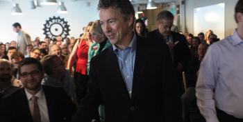 Rand Paul Loses Support Over 'Mainstream' Positions -- And By That, We Mean Slightly Less Extreme